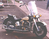 Hydraglide styling and Shovelhead Performance